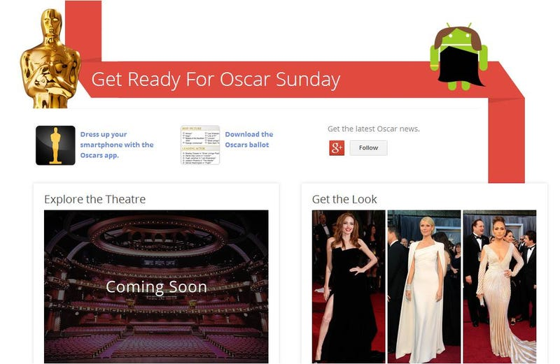 Illustration for article titled Google juega a adivinar quién ganará los Oscar