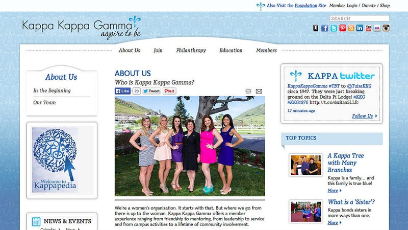 Illustration for article titled UConn Boots Kappa Kappa Gamma Sorority for Hazing
