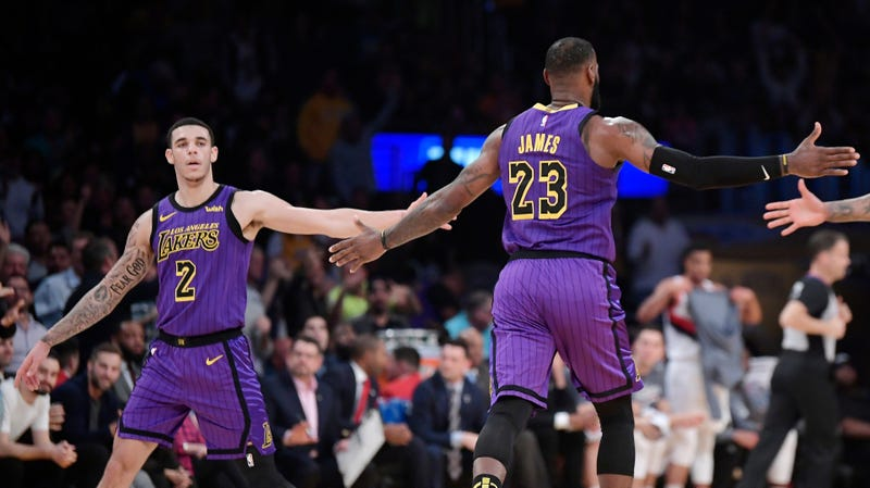 LeBron And Lonzo Post A Rare Double Triple-Double f1439b84d