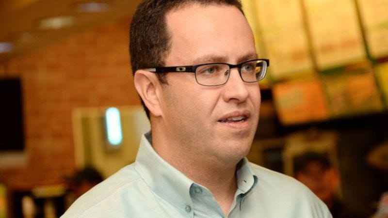 "Illustration for article titled Jewish historian Adam Sandler adds Jared Fogle to ""The Chanukah Song"""