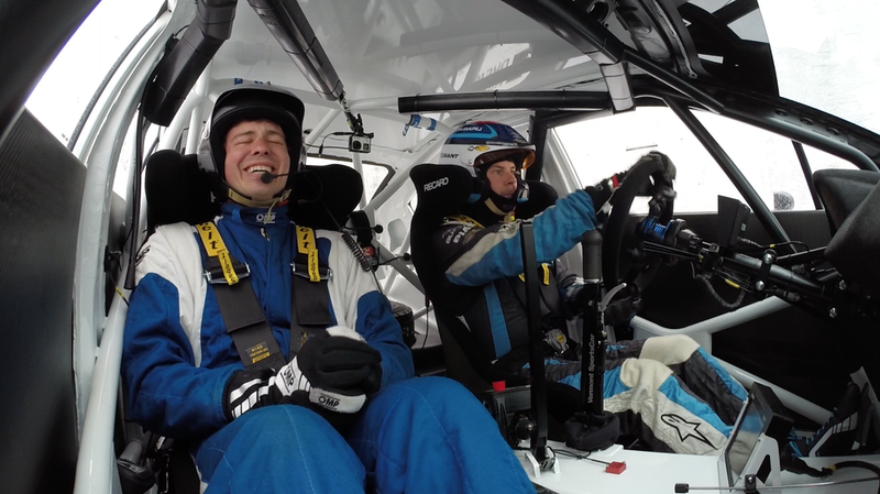 Illustration for article titled A Ride In Subaru's 2015 WRX STI Rally Car Is Pure, Undistilled Elation