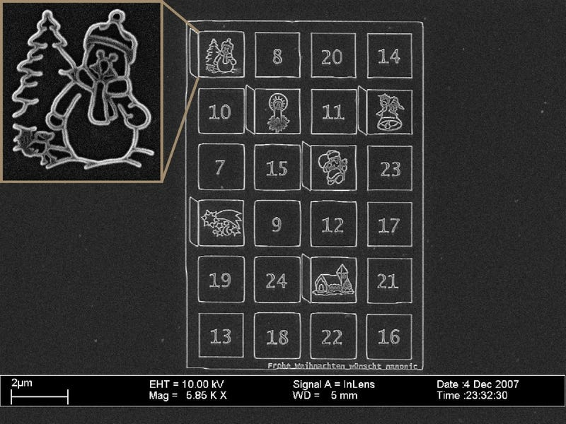 Illustration for article titled Teeny-Tiny Advent Calendar Has No Nano-Chocolates