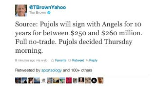 Illustration for article titled Report: Albert Pujols To Sign With The Angels