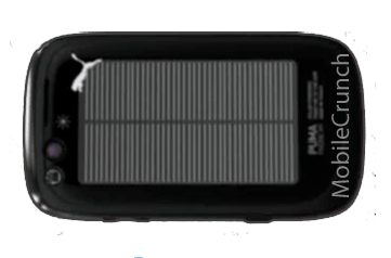 Illustration for article titled A Blurry Look at PUMA's Sporty, Solar-Powered Cell Phone