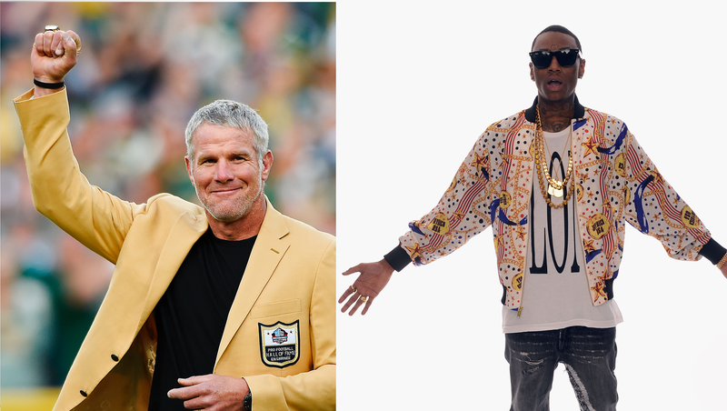Illustration for article titled Brett Favre, Soulja Boy Tricked Into Recording Videos For White Supremacist Group