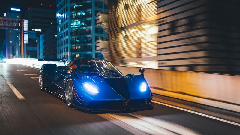 Even For A Pagani Japan S Zonda Anija Is Completely Insane