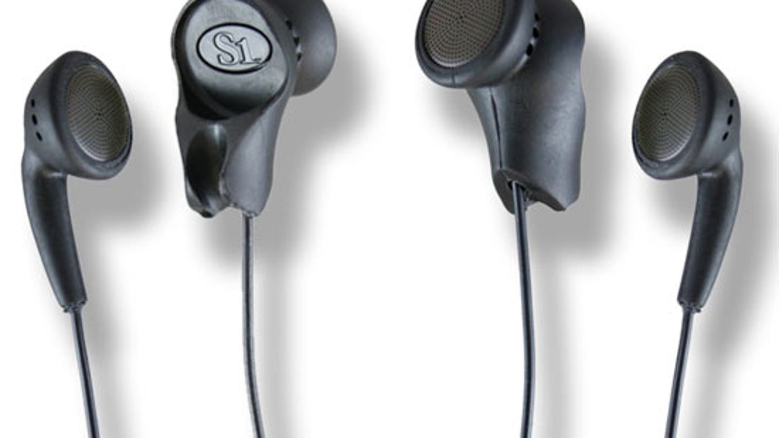 stereophone earbuds in-line mic - BudBud Earbuds Let You Share Your Music With Your Buds