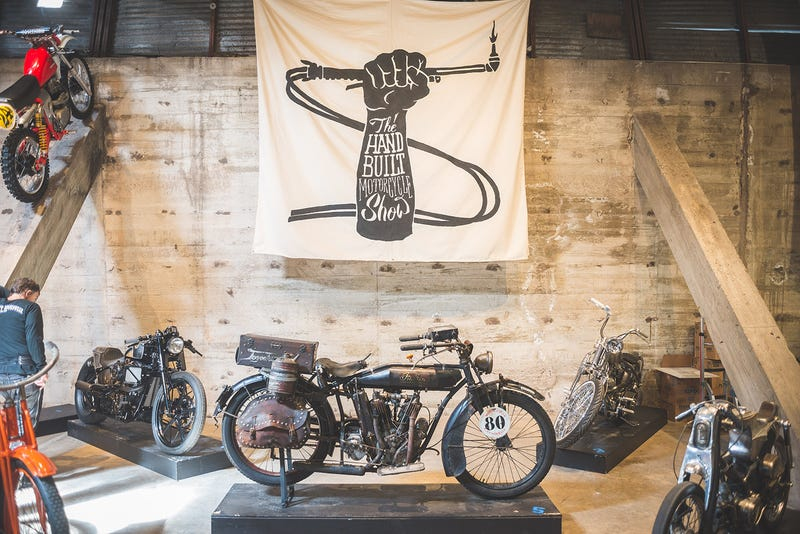 Illustration for article titled All The Awesome From This Year's Handbuilt Motorcycle Show