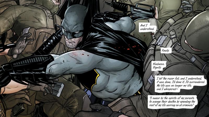 Image: DC Comics. Batman #12 art by Mikel Janín, Hugo Petrus, and June Chung.