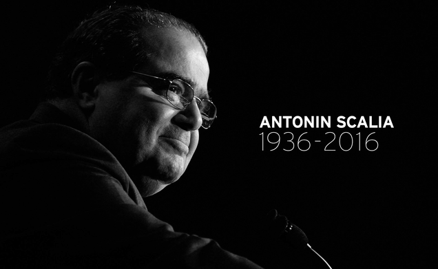 Antonin Scalia Lost