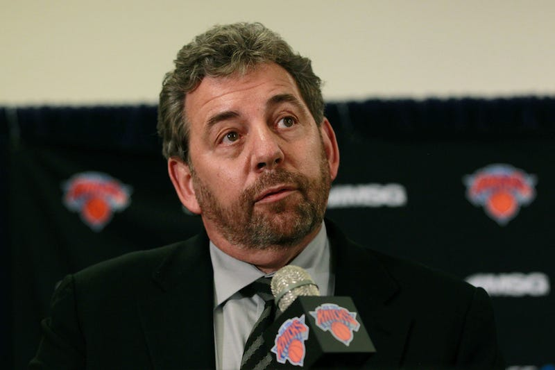 Illustration for article titled Who Wants To Work For Knicks Owner James Dolan? Anyone, Anyone?