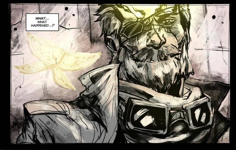 Illustration for article titled Metal Gear Solid V Fan's Comic Ending Is Better Than The Real Thing