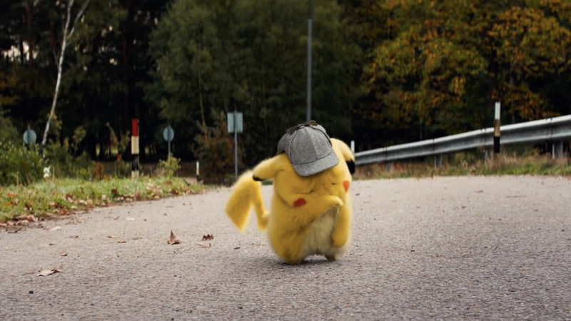 A very sad Pikachu.