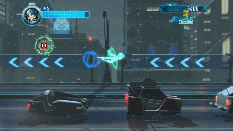 Screenshot: Mighty No. 9/Deep Silver