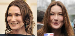 Illustration for article titled Carla Bruni Abandons A Nation By Looking Tired