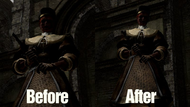 Illustration for article titled Dark Souls on PC Looks Like Complete S**t (But There's a Fix) [Update]