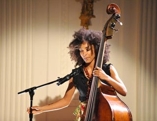 Esperanza Spalding is nominated for a Grammy Award.