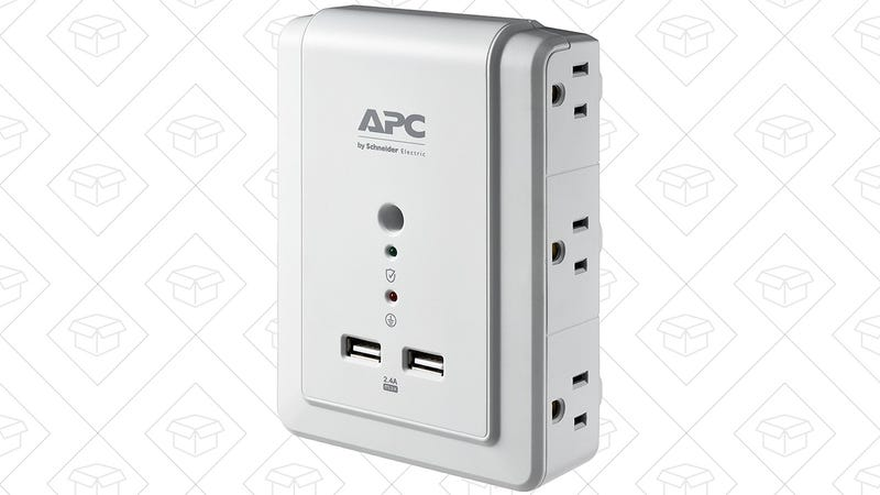 APC 6-Outlet Surge Protector | $13 | Amazon | Clip the $5 coupon