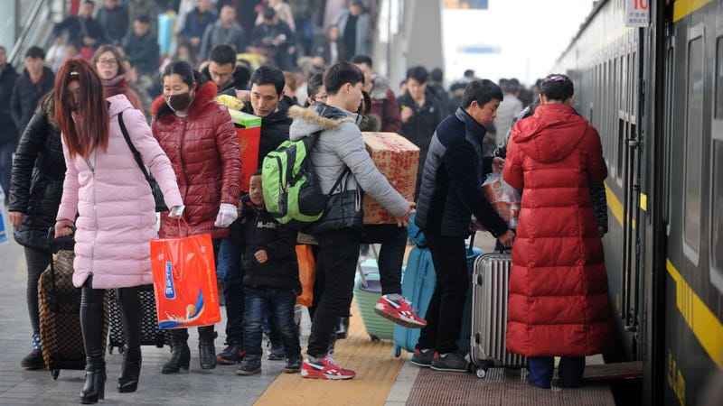 Illustration for article titled Chinese Citizens With Bad 'Social Credit' to Be Blocked From Taking Planes and Trains