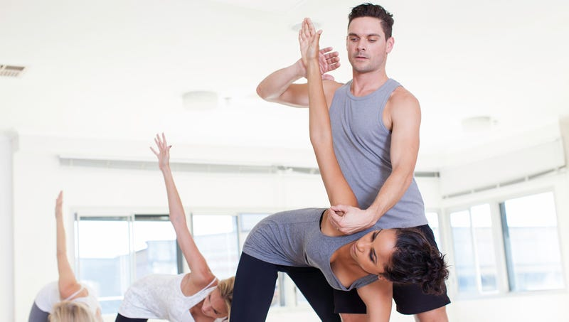 Illustration for article titled Yoga Teacher Has Way Too Much On Plate To Fuck Any More Students Right Now