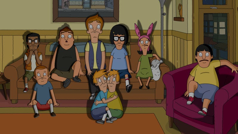 Everybody on Bob's Burgers is terrified by how much TV they have to catch up on