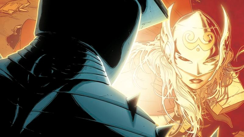 Illustration for article titled Exclusive Marvel preview: The Goddess of Thunder faces The Destroyer in Thor #7