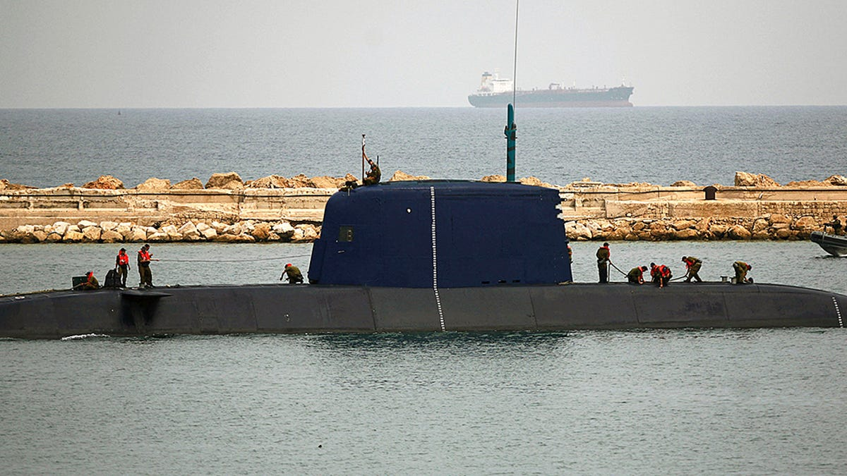 Israel's Newest And Most Advanced Submarine Is Their Last Line Of