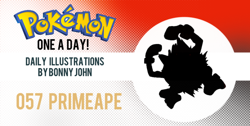 Illustration for article titled Prepare for PRIMEAPE!  Pokemon One a Day!
