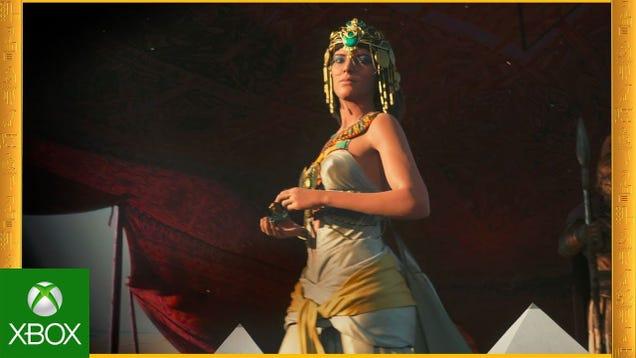 Assassin's Creed Origins Has A New CGI Trailer.