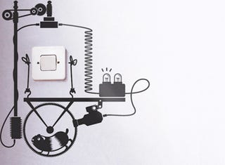 Illustration for article titled Decals Show You the Hamsters Making Your Wall Sockets Work Gallery