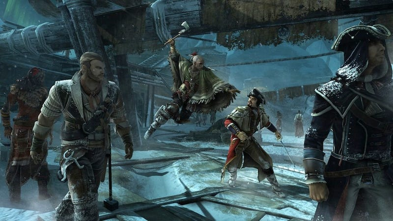 Illustration for article titled Assassin's Creed III Brings a Crafty, Fresh Take on King-Of-The-Hill