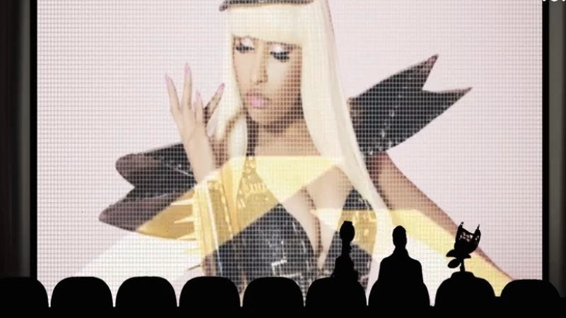 Illustration for article titled Nicki Minaj made a Mystery Science Theater 3000 homage for some reason