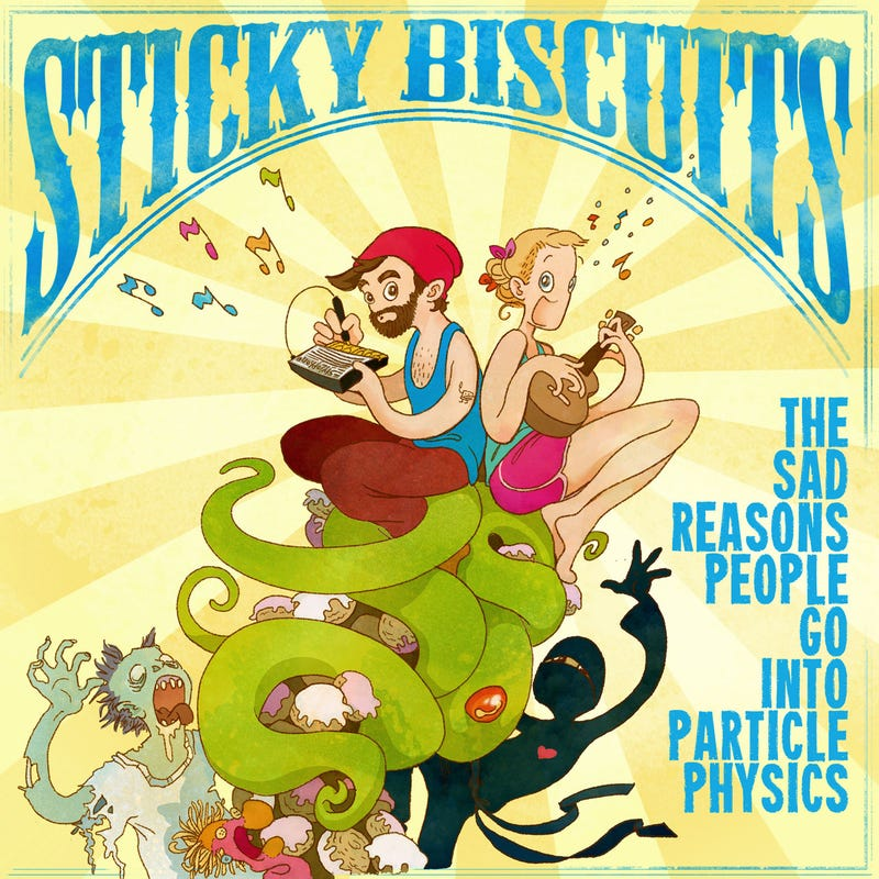 Illustration for article titled (NSFW) Introducing Sticky Biscuits first album!