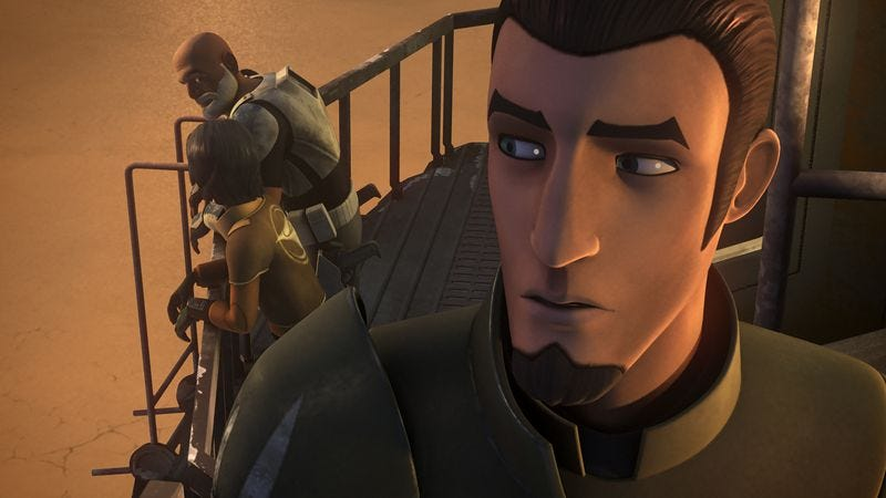 Illustration for article titled Star Wars Rebels returns with a low-key episode with rising stakes