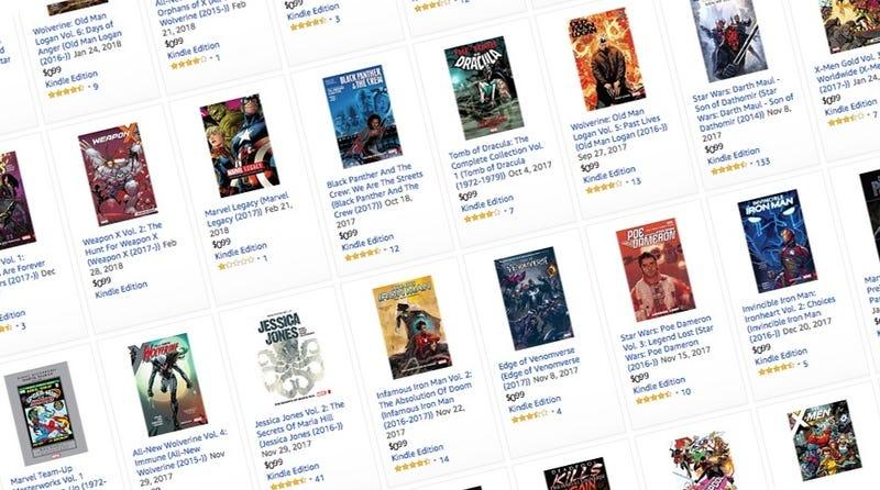 Graphic Novel Sale | $1 | Amazon