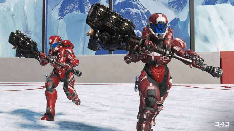Illustration for article titled Grifball turns Halo into rugby—but with giant hammers and laser swords