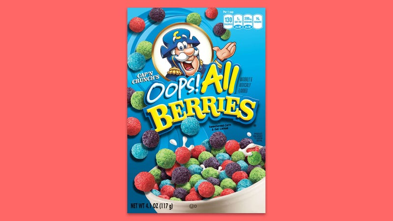 Illustration for article titled Disgusting Privilege: Cap'n Crunch Was Only Forgiven For The 'Oops! All Berries' Debacle Because He's A Straight White Man
