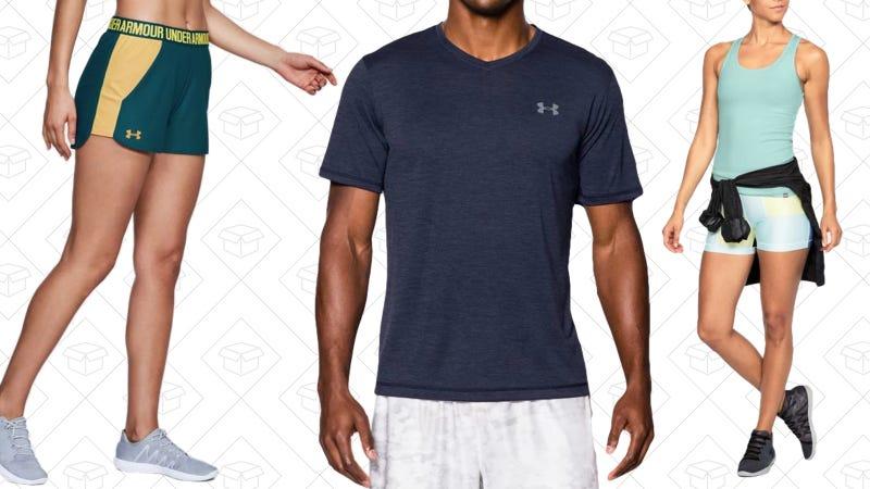 25% de descuento en ropa de deporte   Under ArmourGráfico: Jillian Lucas