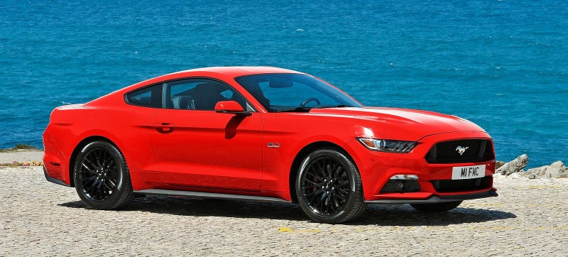 Illustration for article titled 2015 Ford Mustang: 435 Horsepower For The V8, 310 For The EcoBoost