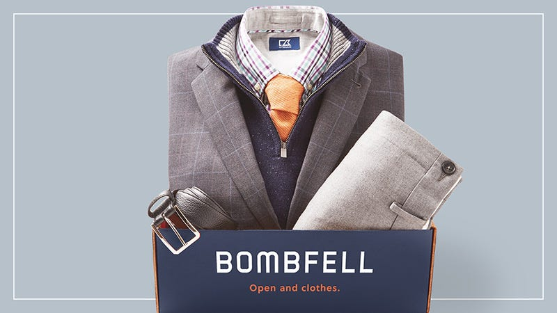 Illustration for article titled Save $20 Off Your First Box Of Bombfell's Curated Menswear Picks