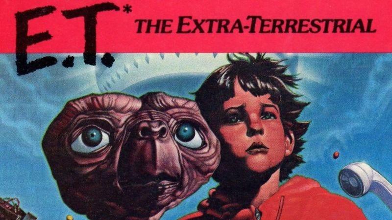 Cover of E.T. The Extra-Terrestrial. (Image: Atari)