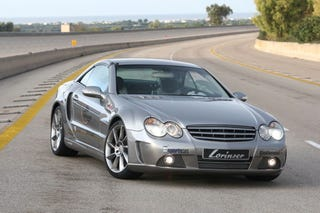 Illustration for article titled Lorinser Takes Mercedes SL Up To 11, Top Speed Up To 201 MPH