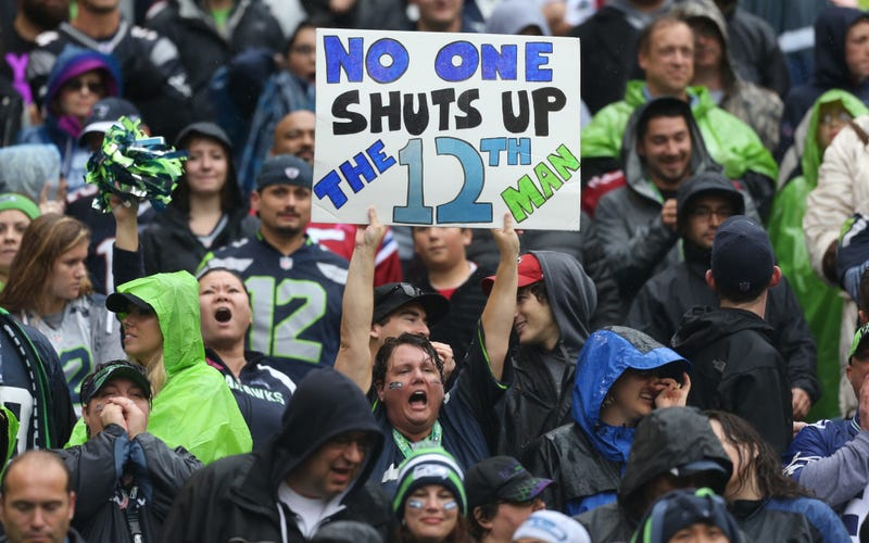 Illustration for article titled Seahawks Fans Will Attempt To Set The World Record For Crowd Noise