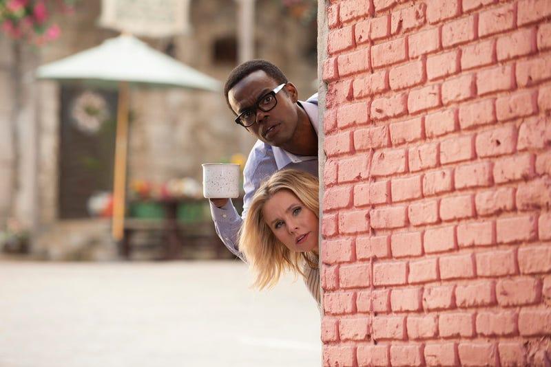 William Jackson Harper, Kristen Bell (Photo: Colleen Hayes: NBC)