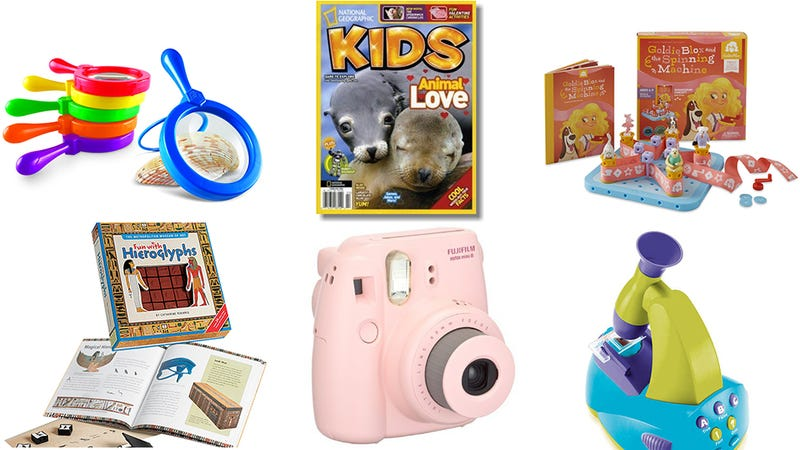 Illustration for article titled Reader Gift Guide: Cool, Smartypants Gifts for Little Girls