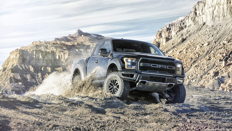 Illustration for article titled 2017 Ford Raptor Makes 450hp and 500lb-ft of Torque