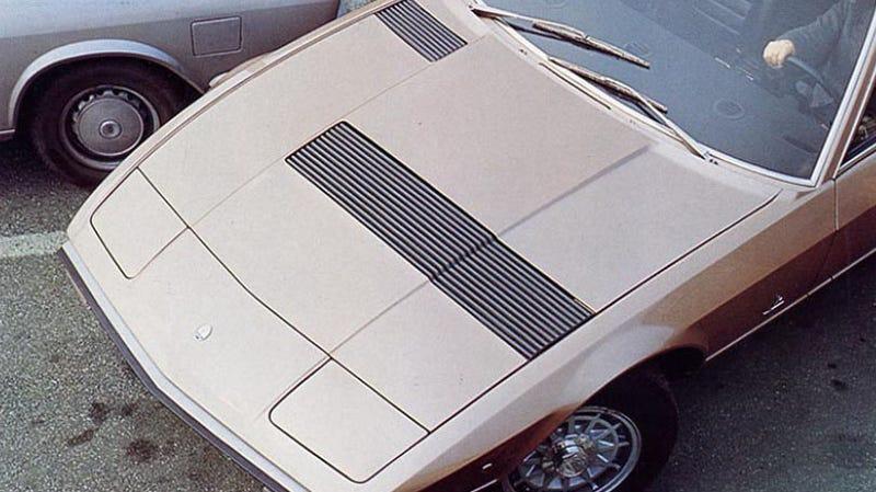Photo Credit: Maserati via their 1975 brochure via this awesome website