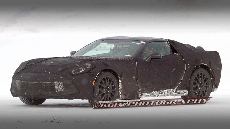 Illustration for article titled 2014 Chevrolet Corvette: First Photos