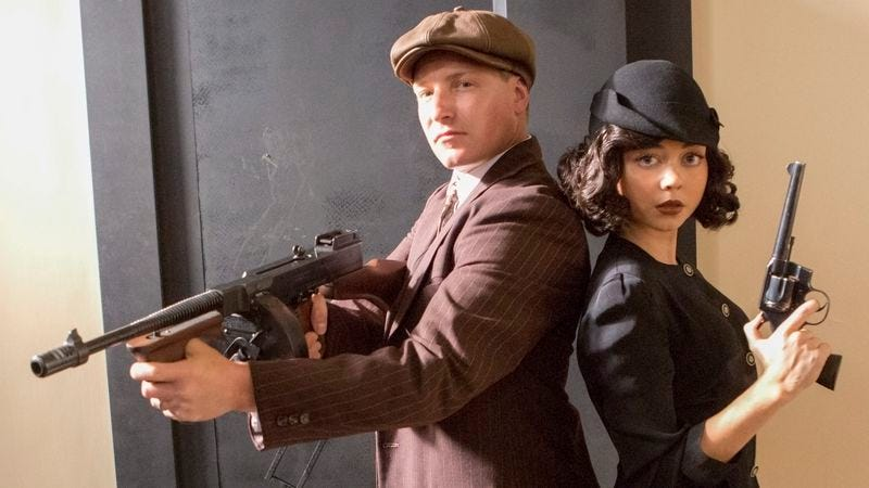 Illustration for article titled Bonnie and Clyde return in a new miniseries, but they're shooting blanks