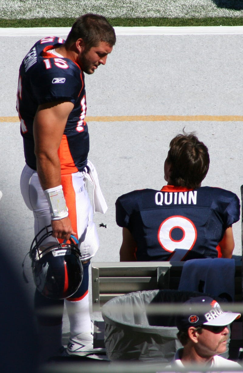 Illustration for article titled Brady Quinn Sounds Somewhat Bitter About Tebowmania